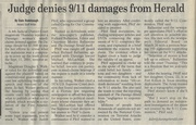 2nd Herald Article:911 Cover Up
