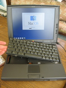 PowerBook 1400 compact flash drive project