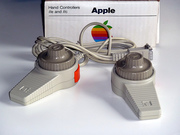 Hand Controllers for Apple IIe and IIc