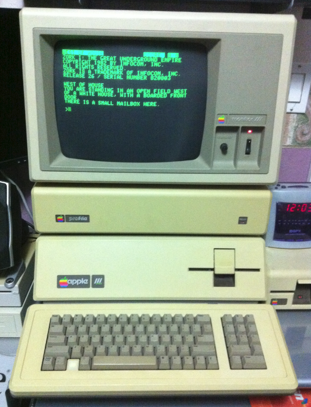 Apple III back in action
