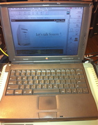 Powerbook 1400cs/133,  Thank you System 7 Today!