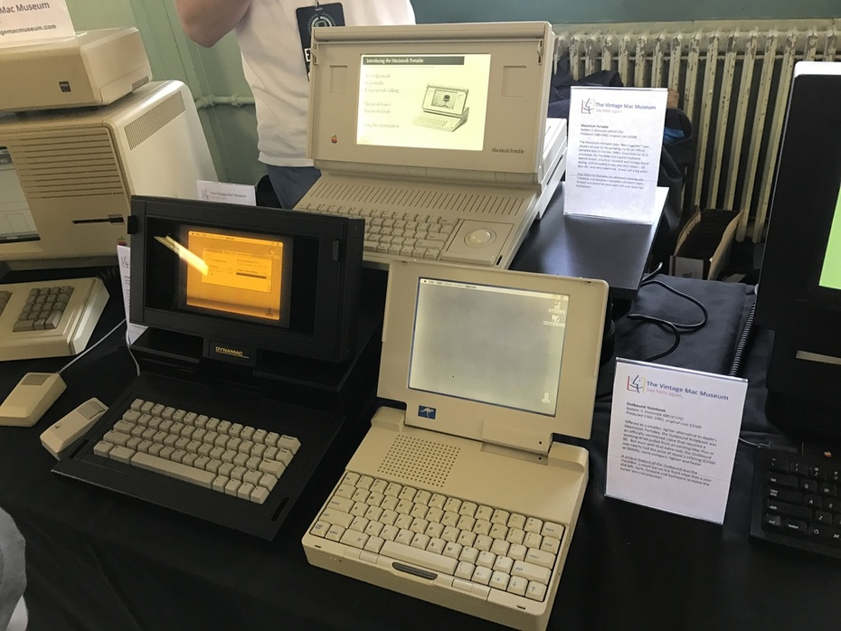 Some highlight of the Vintage Mac Museum.