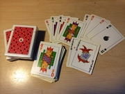 Apple OS 7 Playing cards