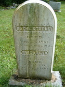 Nathaniel Studley's Tombstone