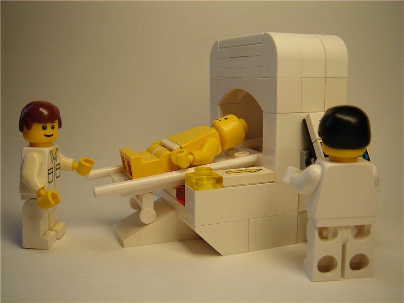 Lego CT Scanner!