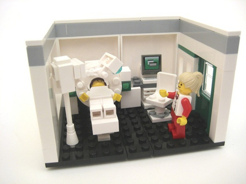 Head CT Scanner - Lego version