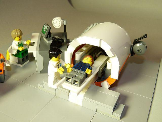 Lego MRI Machine - Large bore