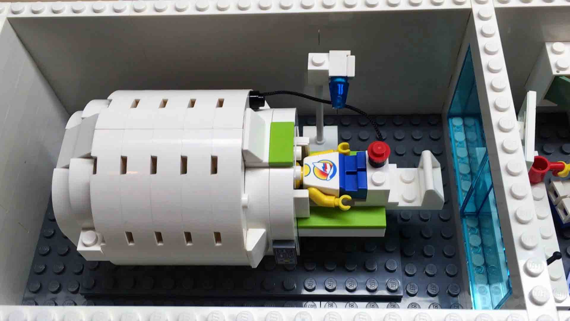 MRI - Lego Version - How many Teslas?