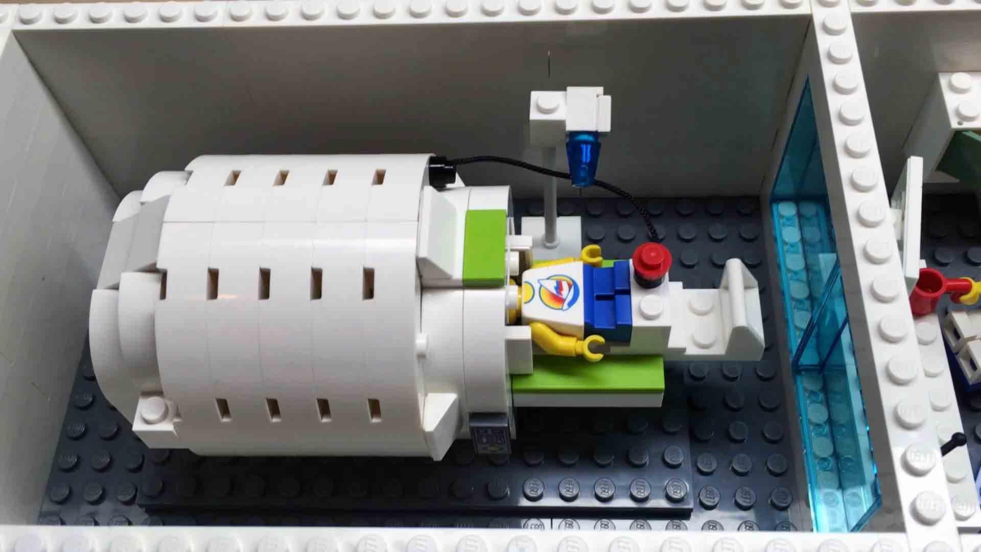 MRI - Lego Version - How many Teslas?