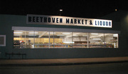 Beethoven Market at Night