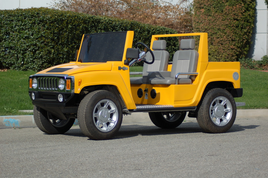 GM-licensed HUMMER H3 Yellow