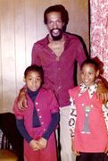 Eddie Kendrick and kids.