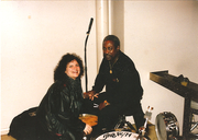 JANELLE with mentor ROGER hUMPHRIES