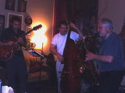 Don Aliquo Sr. and friends @ The Gypsy Cafe in June 2008.