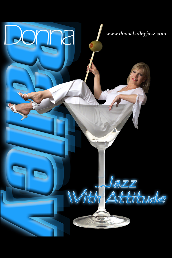 Donna Bailey Jazz Poster