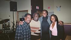 Roger, Pete, Sean and Tia
