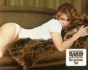 Rabid poster - signed