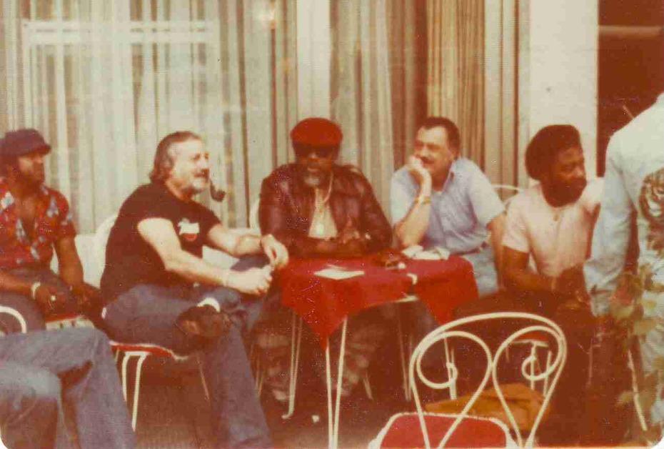 Berlin 1975 Steve, Bill, Hoses, Tony, Delacy and Emmett (back)