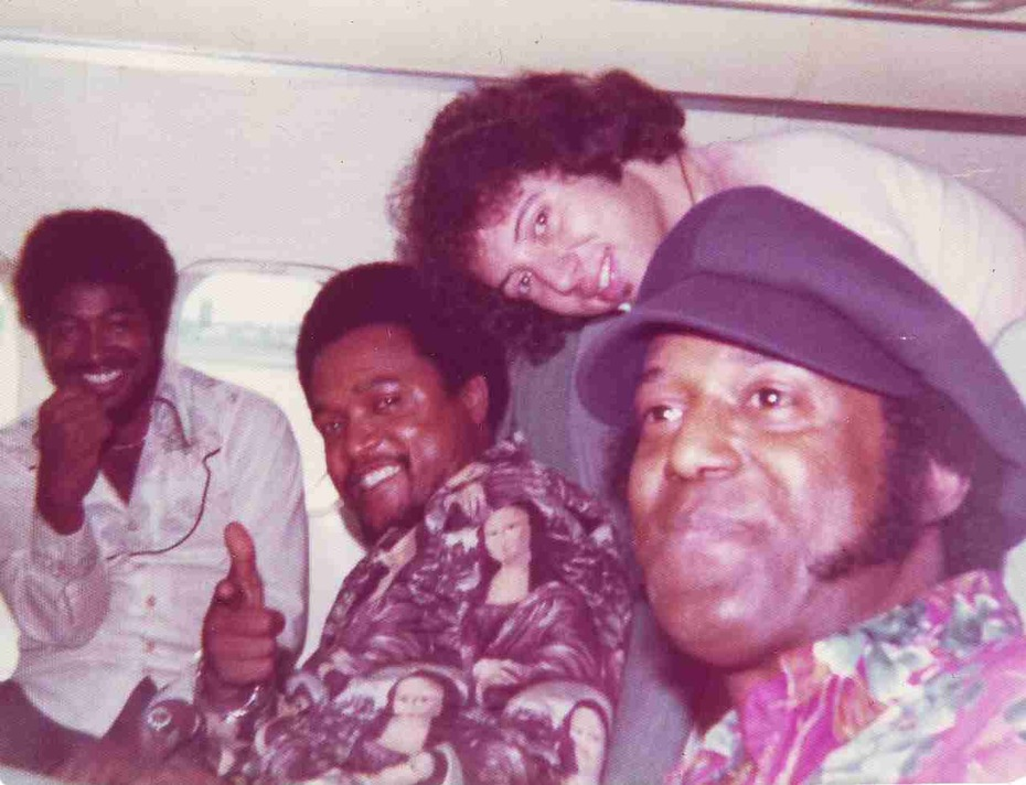 Joe, Willie, Gump and Steve 1975
