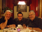 Don Aliquo Sr., Andy Bianco & Phillip Bianco @ the Gypsy Cafe in June 2009.  Happy Father's Day!