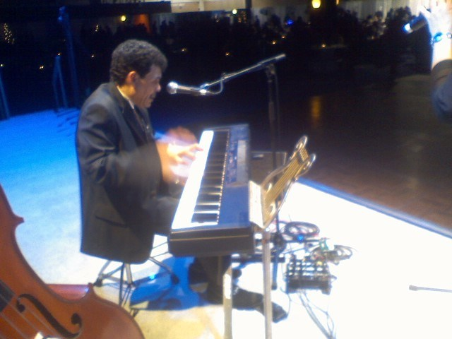 Leader and keyboard/vocalist Dan Stuber