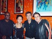 Jeff Grubbs, Jazz Robertson, George Kazas & Andy Bianco @ Little E's in Oct. 2009.