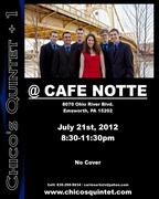 Cafe Notte Poster