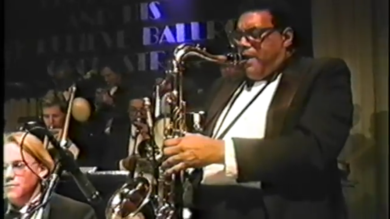 Ramon Morris with the George Gee Orchestra
