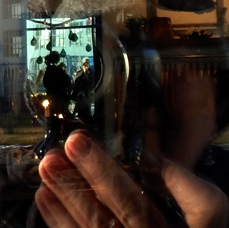 Portrait of the Photographer as a Window Shopper