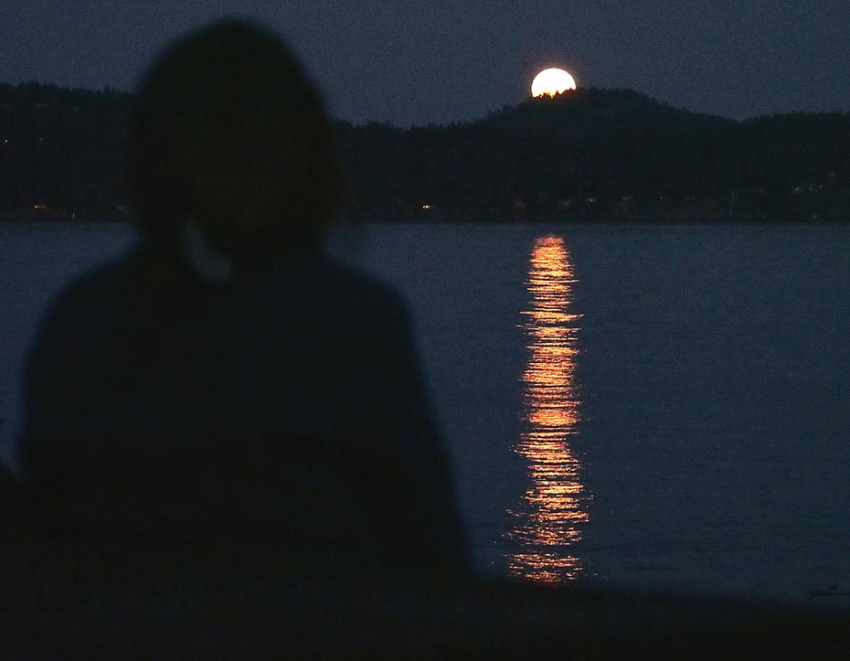 Harvest Moon Over Pender