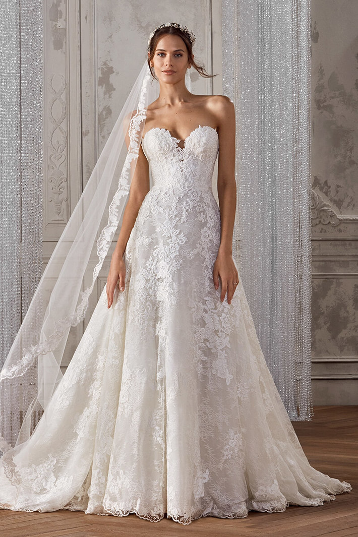Book fit plus size wedding dresses for bride   ByCouturier - Fashion ...