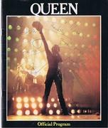 Queen autograph Program 1980