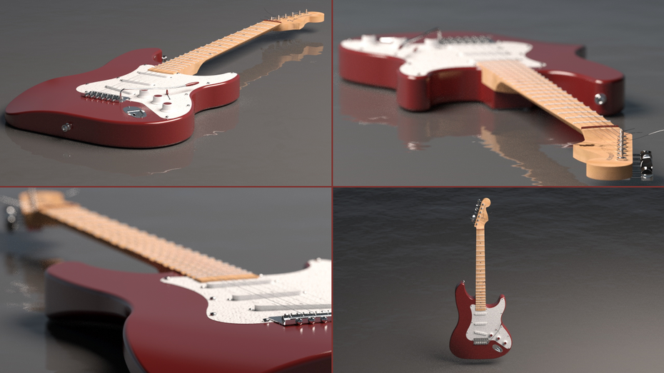 """""""Be like water my friend"""" (Fender_project pre-render)"""