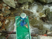 Home made sluice for powerpal