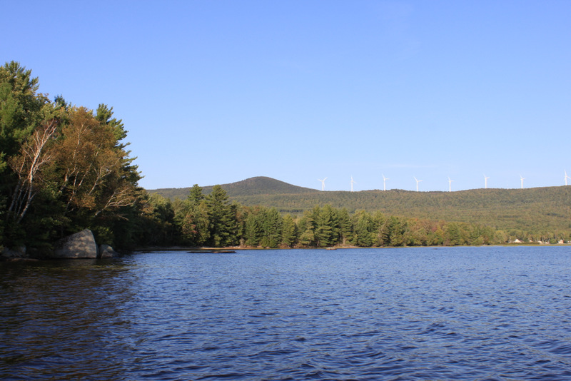 Record Hill Wind from Roxbury Pond
