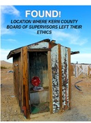 Where Kern County Supervisors left their ethics.