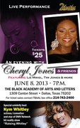 An Evening with Cheryl Jones and Friends hosted by Kym Whitley