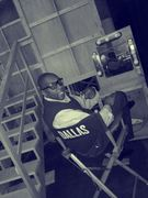 On the set of 'TNT's Dallas'