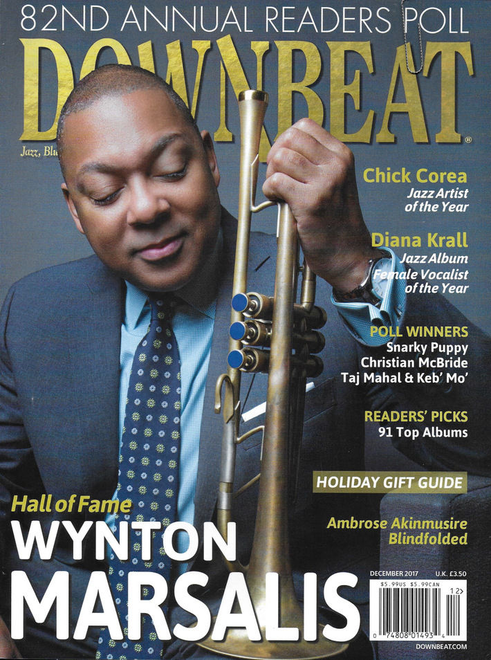 Downbeat feature on Laura Ainsworth
