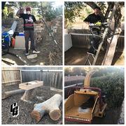 CG Built Reese Piece Backyard Remodel Tree Chippin