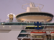 CRUISE SHIP SAILING OUT!