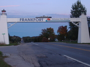 Welcome to Frankfort sign.