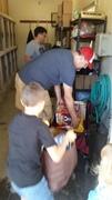 Unloading Donations