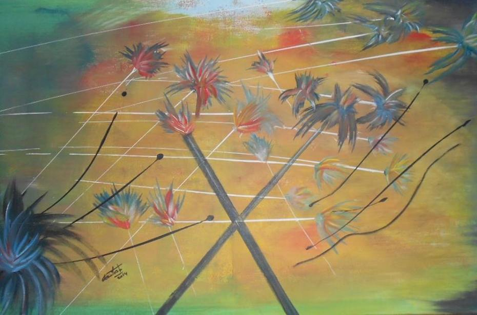 Pintura: Glória Costa