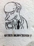 La gula de la crisis