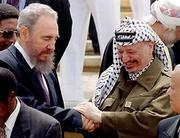 Fidel Castro y yaser alaffar