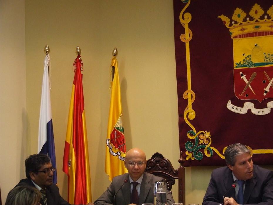 Reunión con Alcaldes de la Mancomunidad del Norte