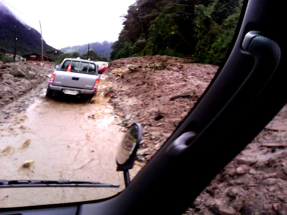Fotos de la vía serrada a la amazonia ecuatoriana