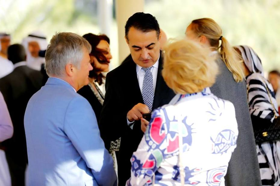 Mohamed Dekkak attends International Center for Biosaline Agriculture (ICBA) VIP open day Read More: https://dekkak.com/icba-2019/