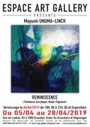 Affiche Mayumi UNUMA-LINCK